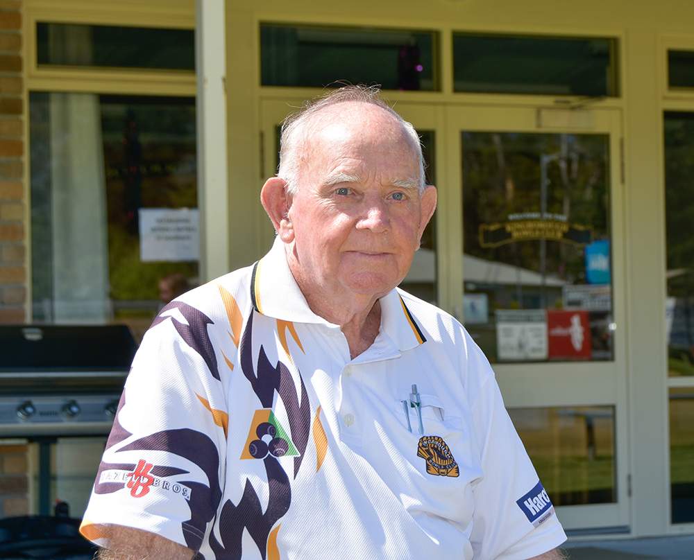 Photo of Peter Martin, Kingborough's Citizen of the Year 2017