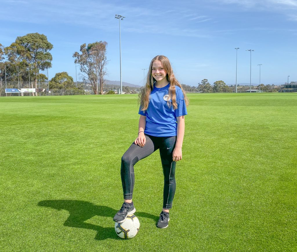 Emelia Howell, Kingborough Young Citizen of the Year 2020