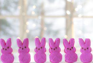 Photo of Easter bunny treats