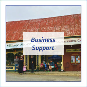 Button to find out about Business Support