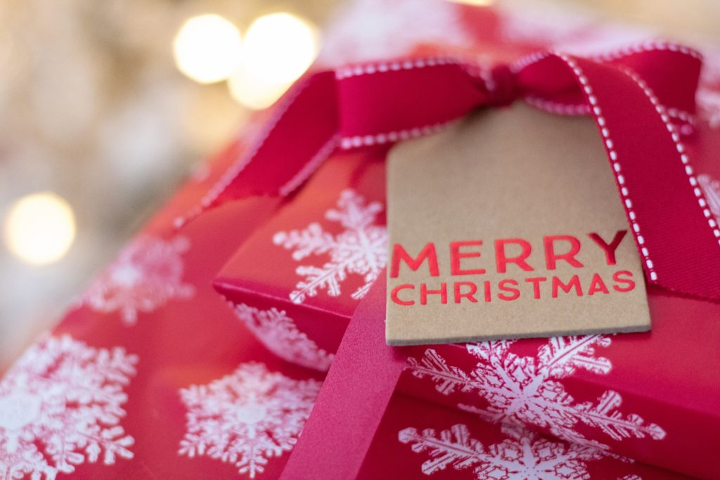 Photo of christmas gifts wrapped up