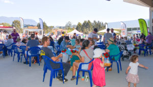 Photo of stallholders on the Terrace at Love Living Locally 2020